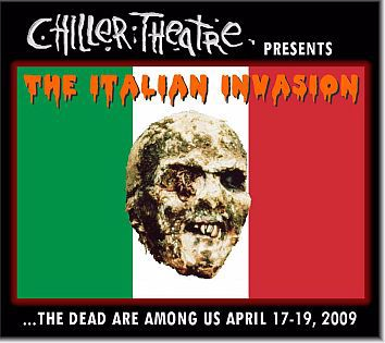 THE ITALIANS ARE INVADING CHILLER THEATRE! Mini-Interviews with Ian McCulloch, Silvia Collatina & Michael Sopkiw!