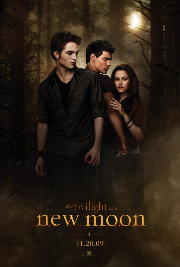 THE TWILIGHT SAGA: NEW MOON Teaser Poster!