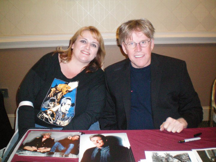 Nicole and Gary Busey