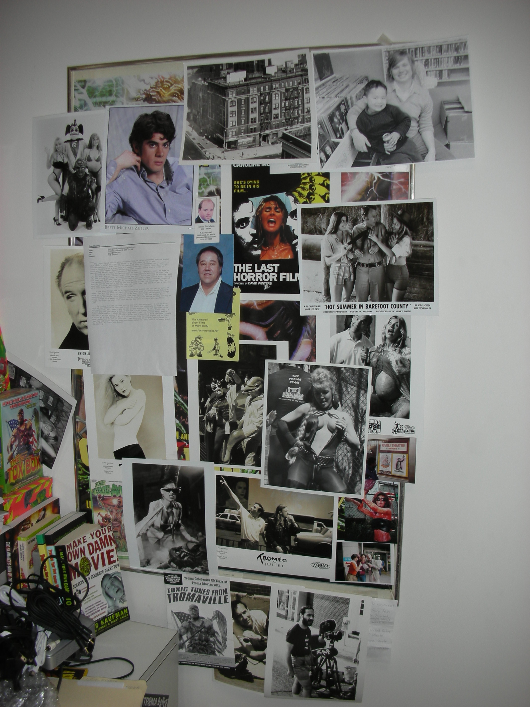 Office Walls Troma Style