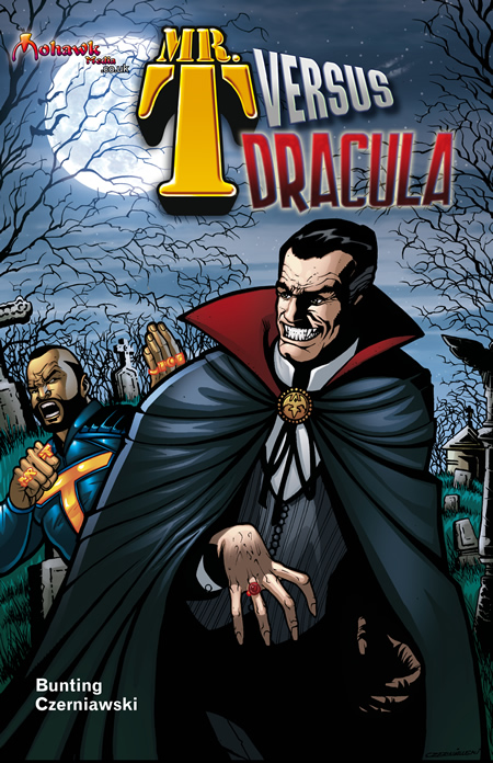 Icons of Fright News and Updates: MR  T VS DRACULA?! THE COMIC?!