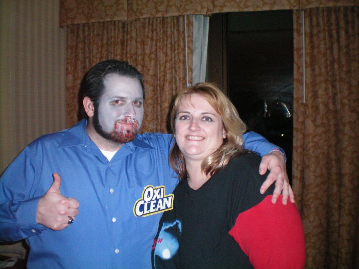Zombie Billy Mays Partying to the Apocalypse