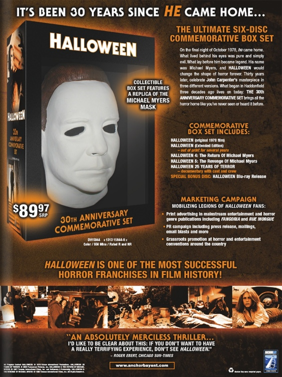 halloween 25th anniversary box set