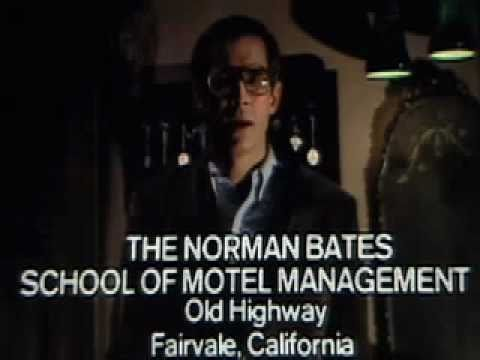 Vintage Video – Norman Bates School Of Motel Management!