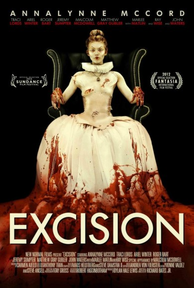 Controversial Indie Horror EXCISION Slices Onto Blu-ray & DVD October 30th!