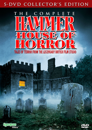Synapse Films Invites You Into The HAMMER HOUSE OF HORROR!
