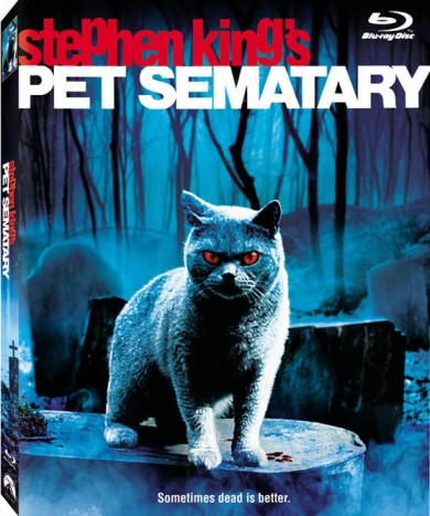 PET SEMATARY Rising From The Grave Onto Blu-ray October 2nd!
