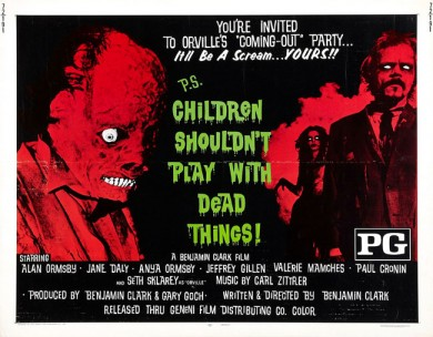 Tom Savini &amp; Drew Daywalt Partnering For CHILDREN SHOULDN&#8217;T PLAY WITH DEAD THINGS Remake!