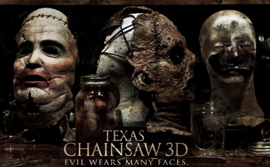 Leatherface Returns In This TEXAS CHAINSAW 3D Poster!