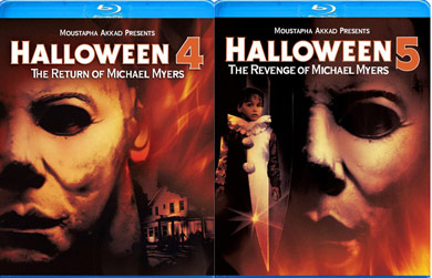 REVIEW – HALLOWEEN 4 & HALLOWEEN 5 Blu-Ray