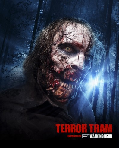 THE WALKING DEAD To Invade The Terror Tram At Universal's Halloween Horror Nights!