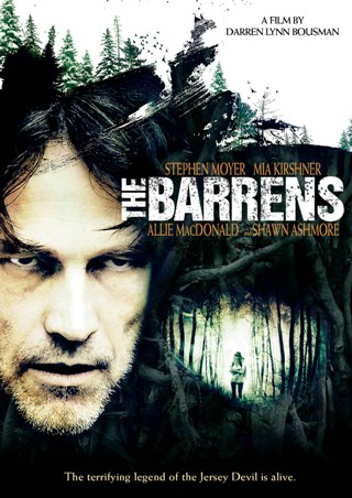 Trailer/Cover Art For Darren Lynn Bousman's THE BARRENS, Out Oct. 9th!