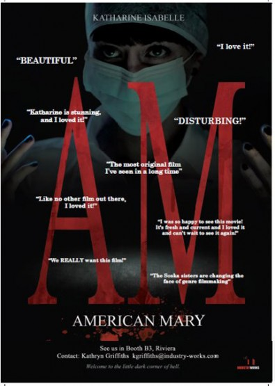 Screamfest 2012 Movie Review: AMERICAN MARY