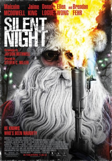 Santa Knows You&#8217;re Naughty! SILENT NIGHT Hits Theaters Nov 30th &amp; Blu-ray Dec 4th!