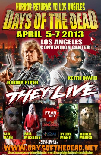 DAYS OF THE DEAD/MONSTERPALOOZA guestlists looking solid!!
