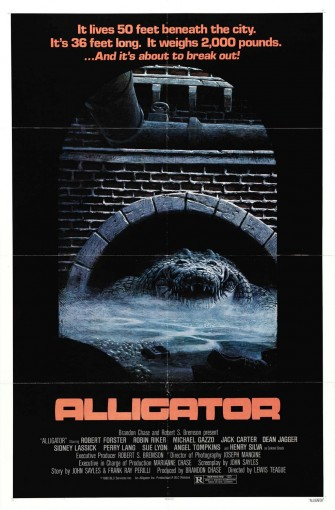 EXPLOITATION ALLEY: ALLIGATOR!