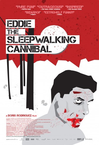 Hilarious Looking EDDIE: THE SLEEPWALKING CANNIBAL Debuts New Poster & Trailer!!