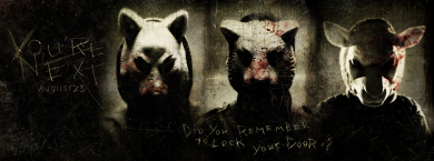 The Animals Hunt You In YOU'RE NEXT Trailer Premiere!