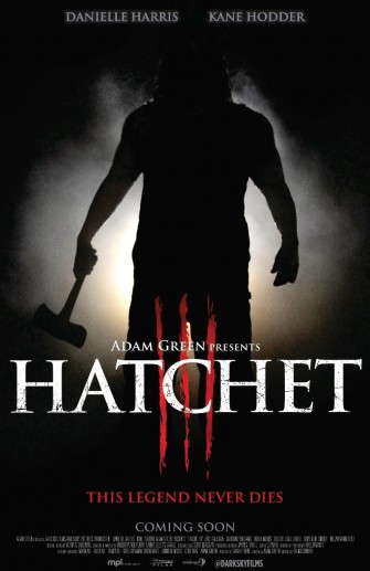 HATCHET III Slashes onto DVD/BLURAY This August!!