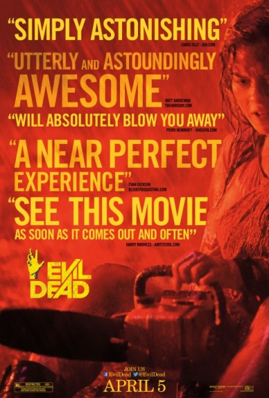 MOVIE REVIEW: EVIL DEAD (2013)