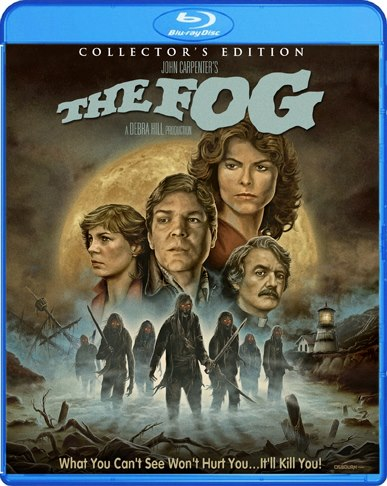 Cover Art For Scream Factory's THE FOG Blu Rolls In!