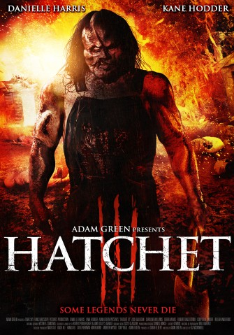 Crowley Leaves Trail of Carnage in New HATCHET III Poster!!