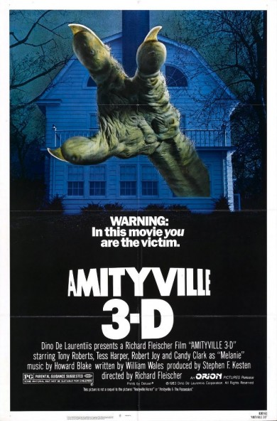 AMITYVILLE HORROR 3-D Coming To Blu-ray 3D From Scream Factory!