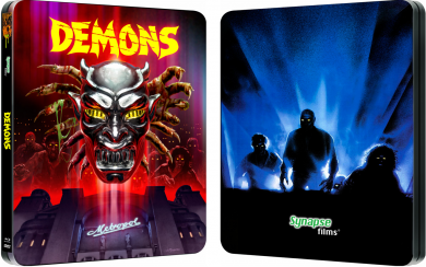 DEMONS & DEMONS 2 Limited Edition Blu-ray Steelbooks From Synapse Films!
