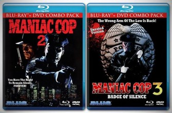 Blue Underground Announces MANIAC COP 2 & 3 Blurays!!