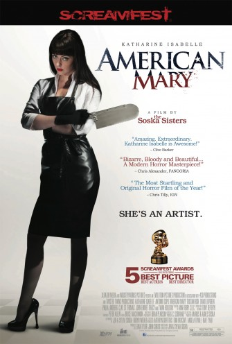 The Soska Twins' AMERICAN MARY Slices Via DVD/BLU-RAY Tomorrow (June 18th)!