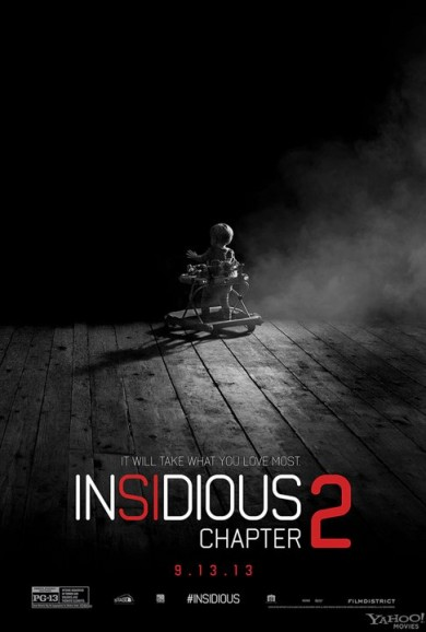 INSIDIOUS CHAPTER 2 Poster Takes You Into The Dark!