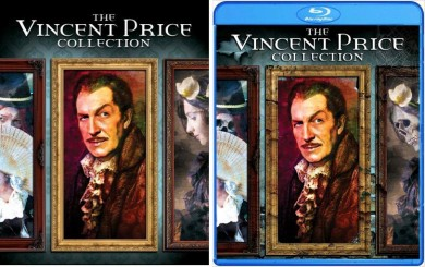 Cover Art For Scream Factory's VINCENT PRICE COLLECTION Blu-ray!