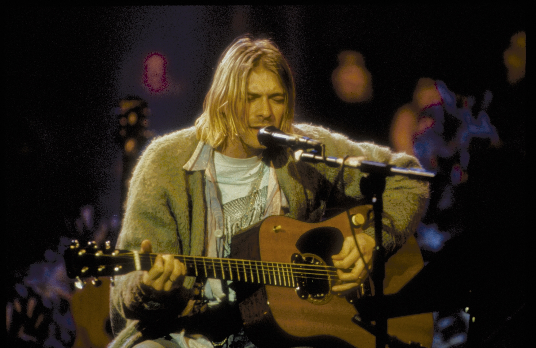 I Was At Nirvana Unplugged - Kurt Cobain